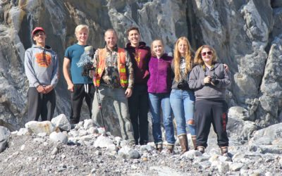 Recession of Shakes Glacier in Southeast Alaska