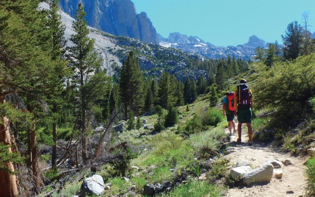 Landscape to Techscape: Metamorphosis along the Pacific Crest Trail